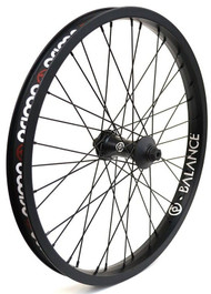 Primo N4FL LT Front Wheel in black at Albe's BMX Online
