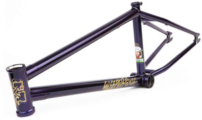 Fit Sleeper Frame in Purple at Albe's BMX Online