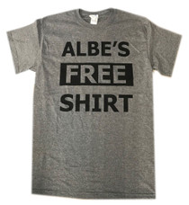 Albe's Free Shirt in Grey at Albe's BMX Online