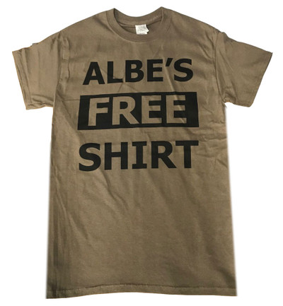 Albe's Free Shirt in olive at Albe's BMX Online