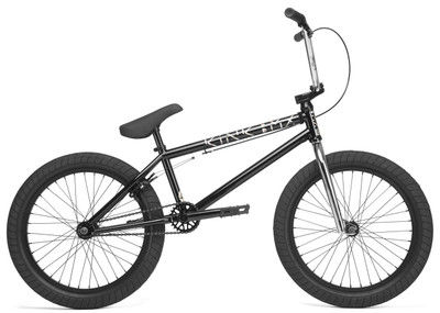 Kink Launch 2020 Bike in black at Albe's BMX Online