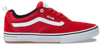 Vans Kyle Walker Pro Shoes Red / White at Albe's BMX Online
