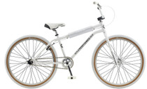 "GT Bikes Pro Performer 2020 Heritage 26"" Bike in White at Albe's BMX Online"