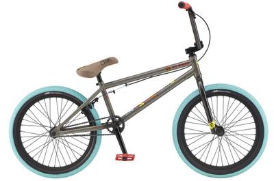 "GT Bikes Performer 20"" 2020 Bike in raw color at Albe's BMX Online"