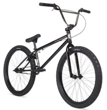 "Stolen Saint 24"" 2020 Bike in black at Albe's BMX Online"