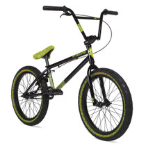 Stolen Overlord 2020 Bike in black and green at Albe's BMX Online