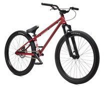 "Verde Radix 26"" Dirt Jump Bike 2020 in Red at Albe's BMX Online"