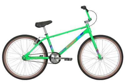 "Haro Master Freestyler DMC 24"" Bike in Green at Albe's BMX Online"
