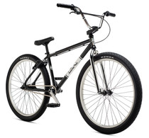 "DK Legend Retro Cruiser 26"" 2020 Bike in black and chrome at Albe's BMX Online"