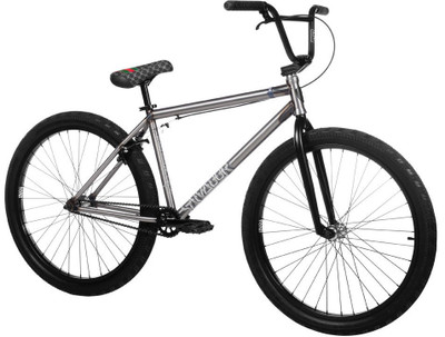 "Subrosa Salvador 26"" Bike 2020 in raw color at Albe's BMX Online"