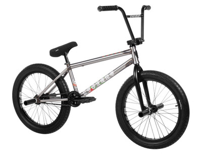 Subrosa Letum Bike 2020 in raw color at Albe's BMX Online