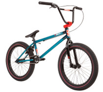 Fit Series One Bike 2020 in trans teal at Albe's BMX Online
