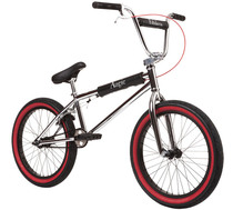 Fit Augie Bike 2020 in chrome at Albe's BMX Online