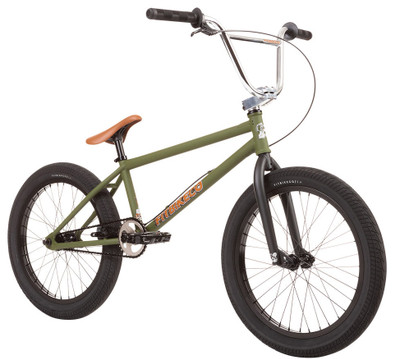 Fit TRL XL Bike 2020 in Army Green at Albe's BMX Online