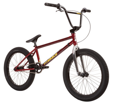 Fit TRL Bike 2020 in Trans Red at Albe's BMX Online