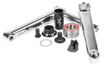 Odyssey Thunderbolt + Crankset in chrome at Albe's BMX Online