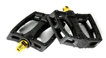 Colony Fantastic PC Pedal in Black and Gold at Albe's BMX Online