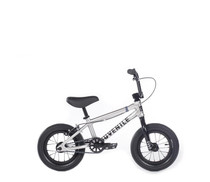 "Cult Juvenile 12"" Bike 2020 in silver at Albe's BMX Online"