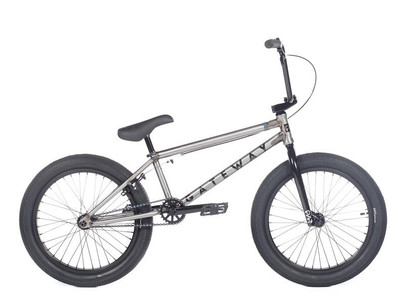 Cult Gateway Bike 2020 in Raw at Albe's BMX Online