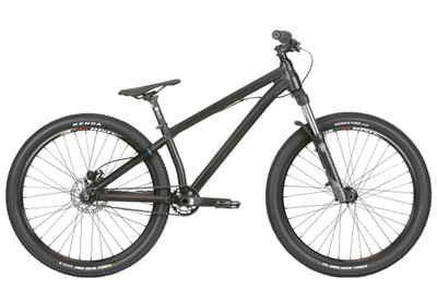 Haro Thread One Freestyle MTB 2020 in black at Albe's BMX