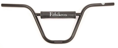 Fit Augie Bar in black at Albe's BMX Online