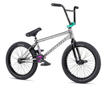 We The People Battleship Bike 2020 in raw color at Albe's BMX Online