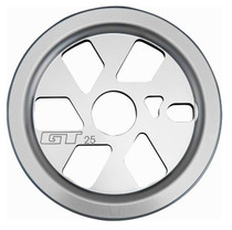 GT Bikes Power Guard Sprocket in silver at Albe's BMX Online
