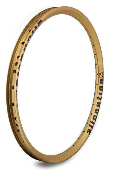 Alienation Mischief Rim in gold color at Albe's BMX Online