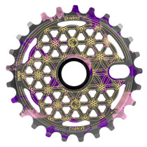 Shadow Conspiracy Maya Sprocket in viral tye die color at Albe's BMX Online