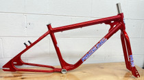 "Race Inc. ML-26 Retro 26"" Frameset in red at Albe's BMX Online"