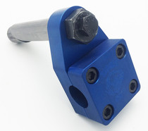 "Knight Bike Co. Ruf Neck Retro 1"" Quill Stem in blue at Albe's BMX Online"