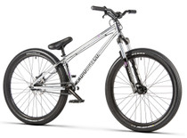 Radio Asura Pro Dirt Jump Bike 2020 in chrome at Albe's BMX Online