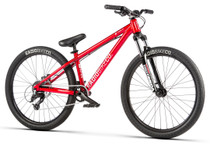 Radio Fiend Dirt Jump Bike 2020 in red at Albe's BMX Online