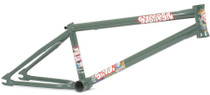 Subrosa Simo Frame in Green at Albe's BMX Online