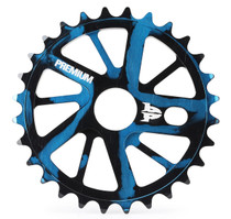 Premium Gnarstar Sprocket in smoke blue at Albe's BMX Online