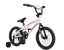 "SE Bikes Bronco 16"" Bike in white at Albe's BMX Online"