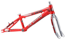 "SE Bikes PK Ripper Super Elite 20"" XL Frameset in red at Albe's BMX Online"