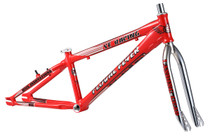 "SE Bikes Floval Flyer 24"" Frameset in red at Albe's BMX Online"