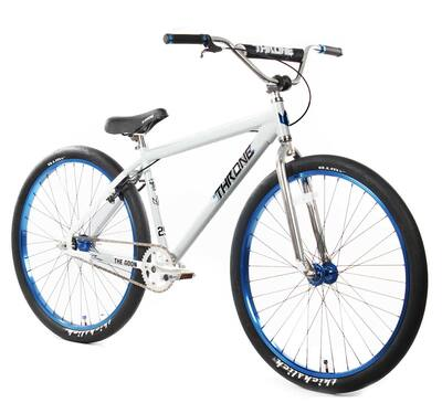 """Throne Cycles The Goon 29"""" Bike in white at Albe's BMX Online"""