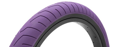Kink Sever Tire in purple at Albe's BMX Online