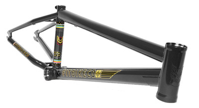 Fit S3.5 Aitken Frame in black at Albe's BMX Online