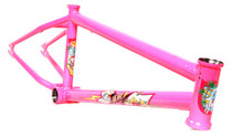 S&M Hucker Frame in Hot Pink at Albe's BMX Online