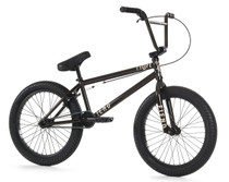Fiend Type O- Bike 2020 in black chrome at Albe's BMX Online