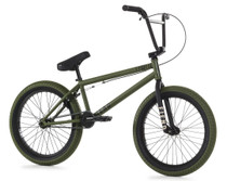 Fiend Type O+ Bike 2020 in green at Albe's BMX Online