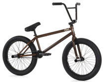 Fiend Type B+ Bike 2020 in brown at Albe's BMX Online