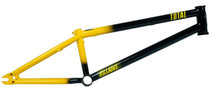 Total BMX Killabee K4 Frame in bumble bee black and yellow at Albe's BMX Online