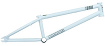 Total BMX Hangover H4 Frame in white at Albe's BMX Online