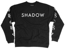 Shadow Conspiracy VVS Crew Sweatshirt in black at Albe's BMX Online