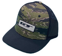 GT Bikes Trucker Snapback Hat in camo at Albe's BMX Online