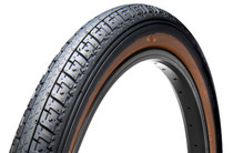 """GT Bikes LP-5 Heritage 20"""" Tire in black with skin wall at Albe's BMX Online"""